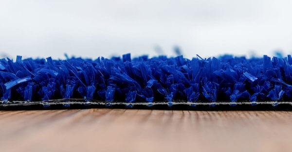 Kunstgras Den Helder blauw