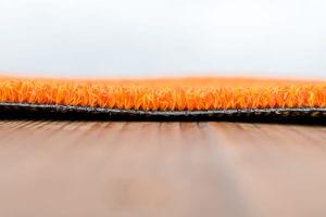 Kunstgras Fitness oranje