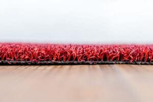 Kunstgras Fitness rood