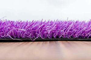 Kunstgras Gekleurd gras luxe paars