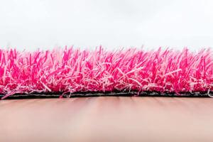 Kunstgras Gekleurd gras luxe roze