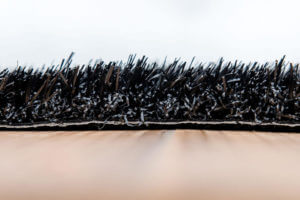 Kunstgras Gekleurd gras luxe zwart