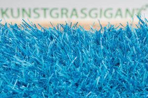 Kunstgras Gekleurd gras luxe lichtblauw